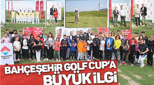 BAHÇEŞEHİR GOLF CUP'A BÜYÜK İLGİ