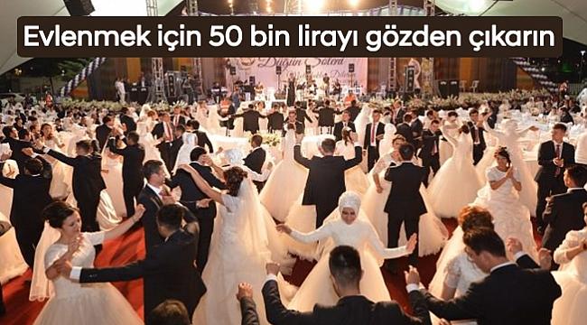 fc6ea7425ac49 Samsun'da yeni evlenecek çiftler en az 50 bin lirayı gözden çıkarmak  zorundalar