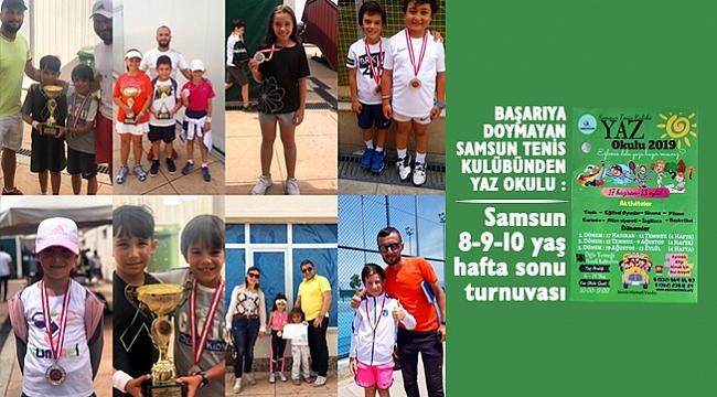 Samsun 8-9-10 yaş hafta sonu turnuvası
