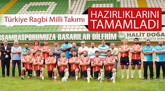 Türkiye Ragbi Milli Takımı  hazırlıklarını tamamladı