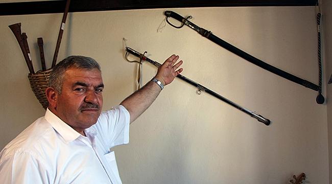 Ambarköy'ün 'cezalı' kılıcı