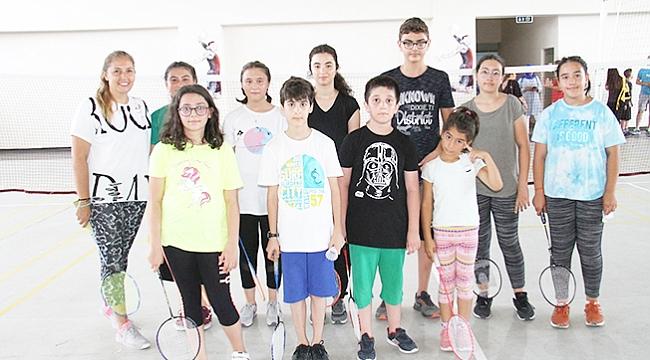 Badmintonda yoğun tempo