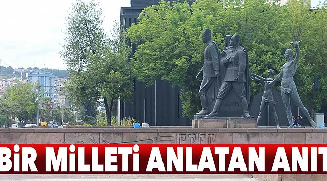 Bir milleti anlatan anıt