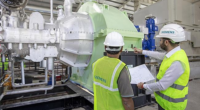 Çarşamba BES'e  Siemens Türbinleri