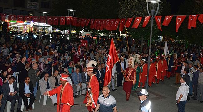Havza'da 3. yılında demokrasi nöbeti