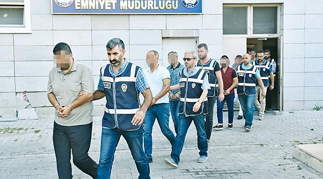 Rüşvet operasyonuna 4 tutuklama