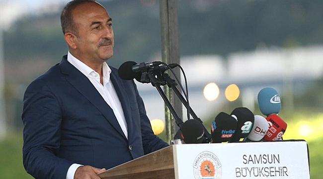 Bakan Çavuşoğlu  Samsun'a geliyor