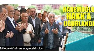 Savaş Kademoğlu'na son görev