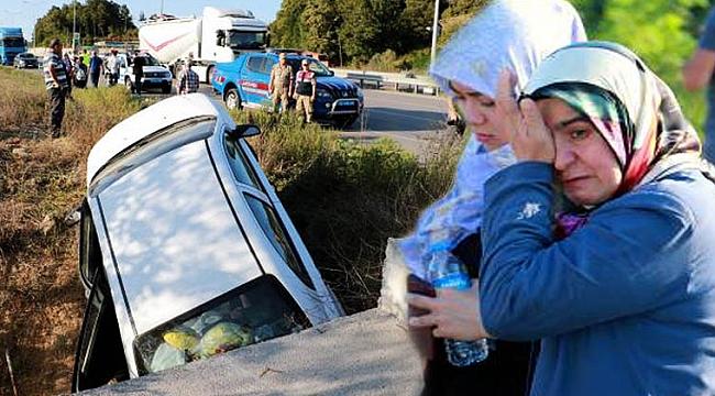 Kazadan sağ kurtulan  aile gözyaşı döktü