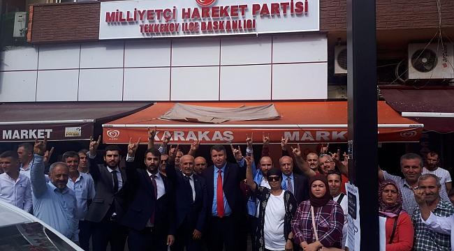 MHP'de değişim devam ediyor
