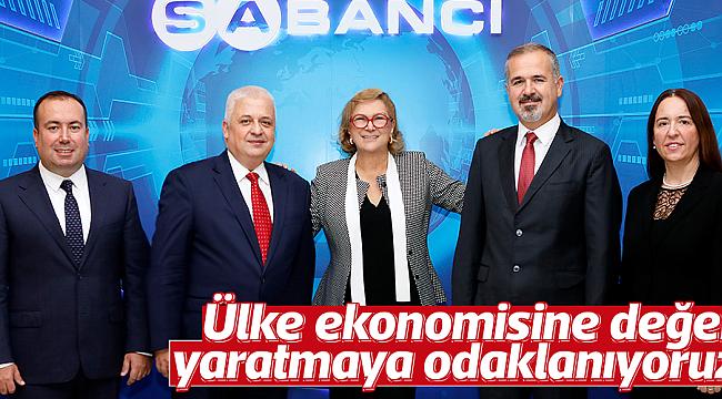 Ülke ekonomisine değer  yaratmaya odaklanıyoruz