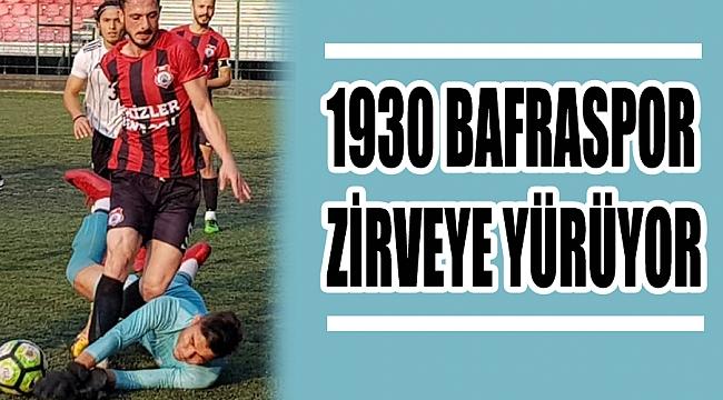 1930 BAFRASPOR ZİRVEYE YÜRÜYOR