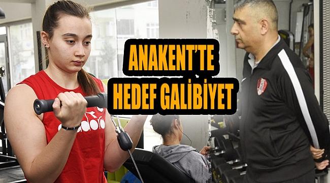 ANAKENT'TE HEDEF GALİBİYET