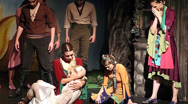 Arda Boyları balesi  Amasya'da sahnelendi