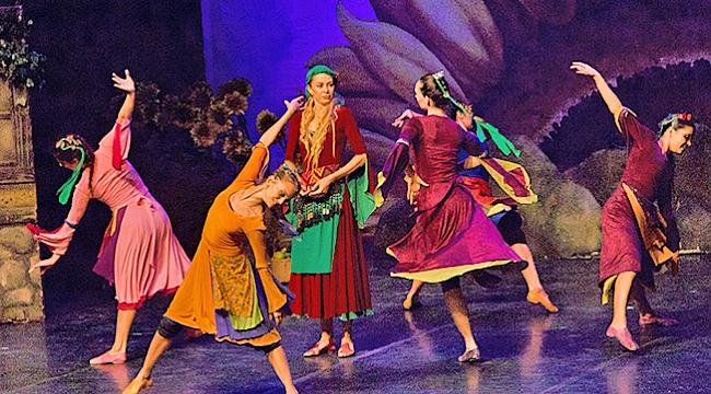 Arda Boyları balesi  Tokat'ta sahnelendi