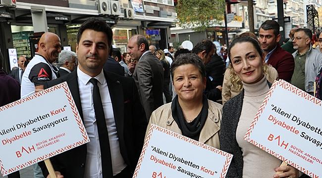 Büyük Anadolu'dan diyabet farkındalığı