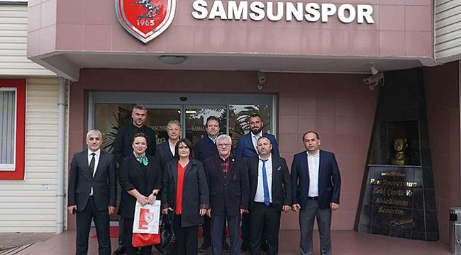 KKTC'den Samsunspor'a ziyaret