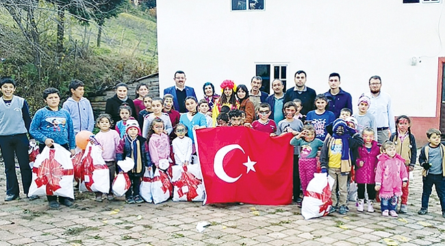 Köy çocukları için kampanya