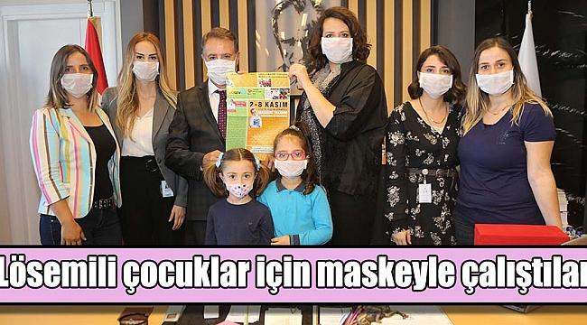 Lösemili çocuklariçin maskeyle çalıştılar
