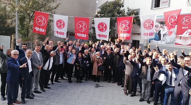 MHP'de 3 yeni ilçe yönetimi göreve başlıyor