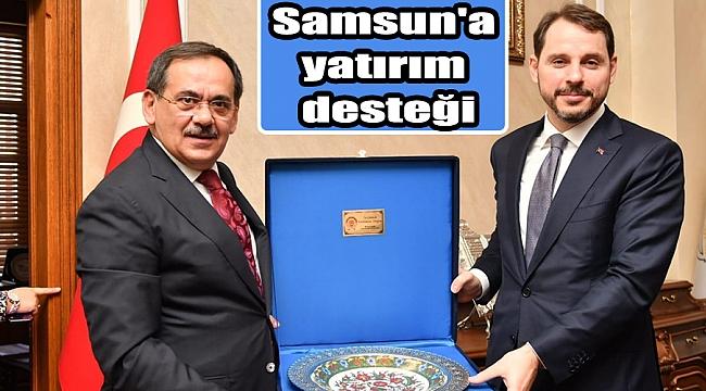 Samsun'a yatırım desteği