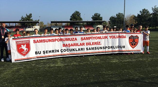 Yolspor'dan Samsunspor'a destek