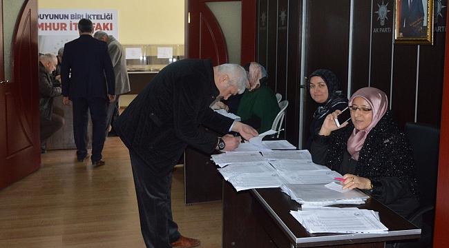 AK Parti Havza'da seçimleri tamamladı