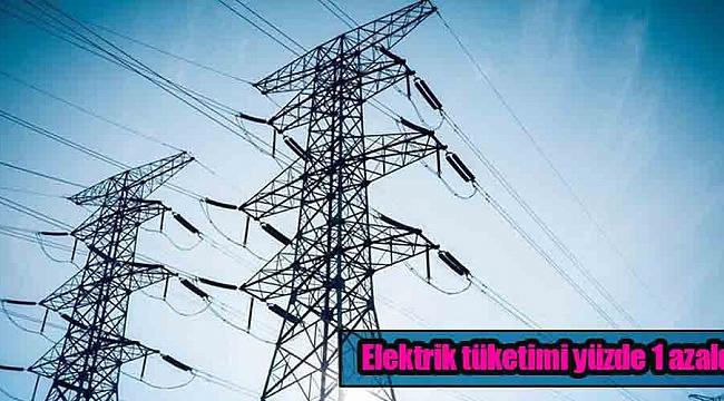 Elektrik tüketimi yüzde 1 azaldı