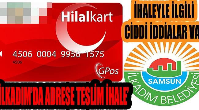'İLKADIM'DA ADRESE TESLİM İHALE'