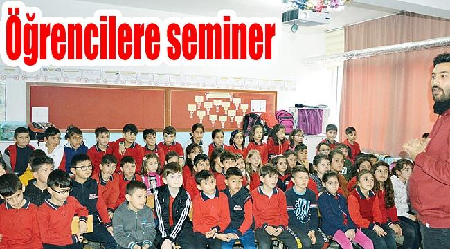 Öğrencilere seminer