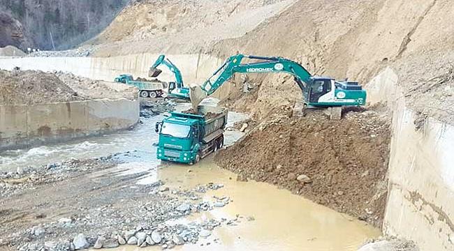 17 yılda 8 baraj  2 gölet inşa edildi