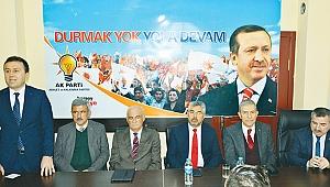 AK Parti'den Havza'da toplantı