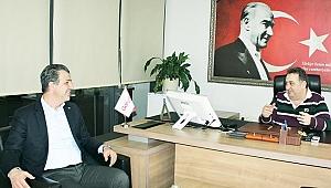 Çamaş'tan Gazete Gerçek'e ziyaret