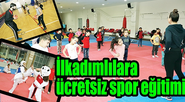 İlkadımlılara ücretsiz spor eğitimi