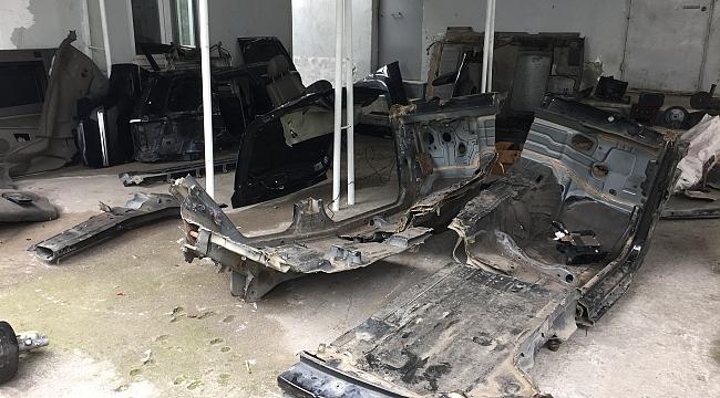 Samsun'da oto hırsızlığı operasyonu