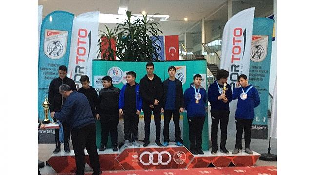 Samsunlu atıcılar  Türkiye üçüncüsü