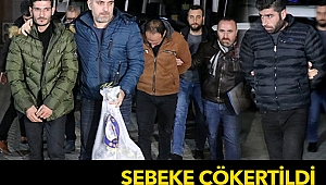 ŞEBEKE ÇÖKERTİLDİ