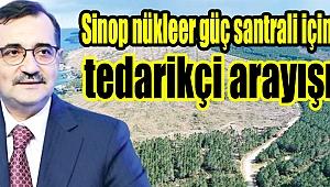 Sinop nükleer güç santrali için tedarikçi arayışı