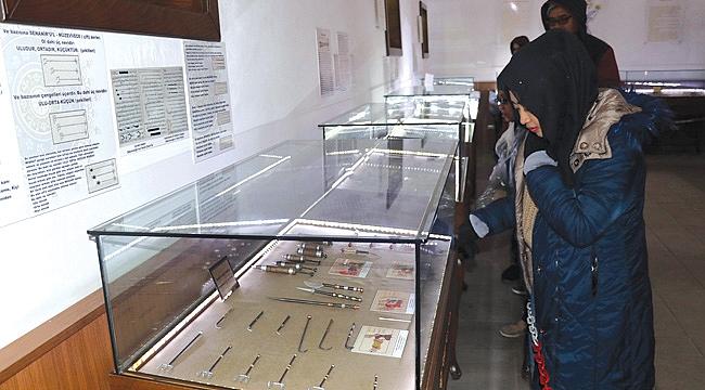 Amasya'nın müzeleri ilgi görüyor