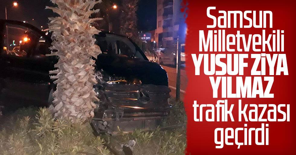 Antalya'da feci kaza: Samsun Milletvekili Yılmaz yaralandı