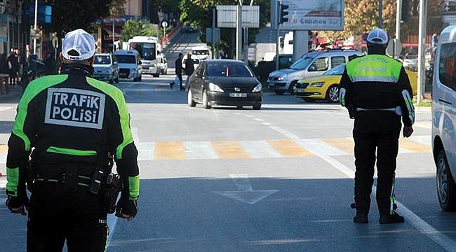 Bir ayda 7,5 milyon TL trafik cezası kesildi