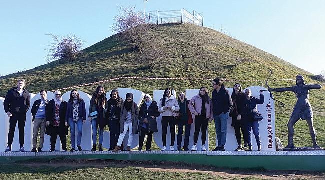 Erasmus öğrencilerinden Samsun hatırası