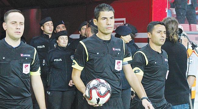 Maça İzmir Bölgesi'nden hakem
