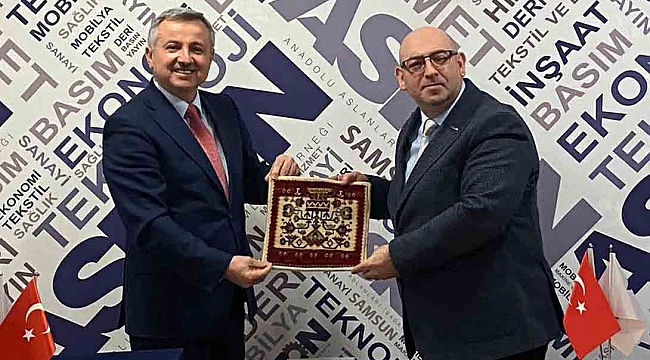 Moldova'nın Ankara Büyükelçisi Samsun'da