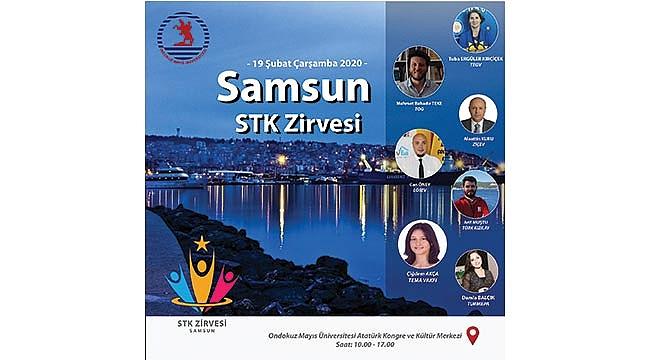Samsun'da STK zirvesi