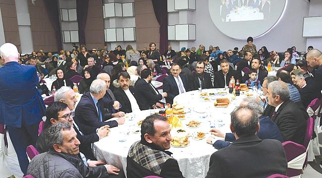 Samsun'daki Tonyalılar yemekte buluştu