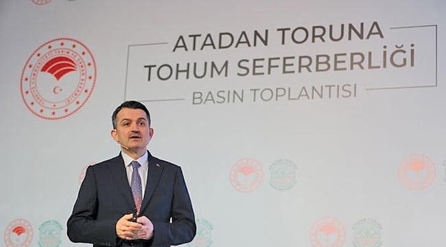 Türkiye tohumda ihracatçı