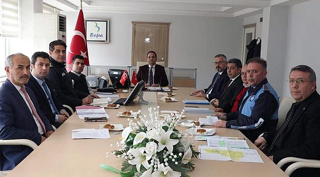 Bafra'da korona virüs toplantısı