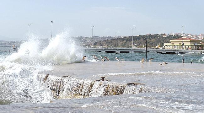 Sinop'u fırtına vurdu!