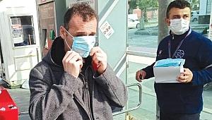 Toplu taşımayı kullananlara ücretsiz maske